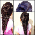 прическа коса для длинных волос