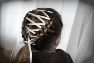 плетение французской косы