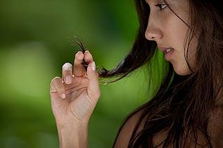 волосы после лета
