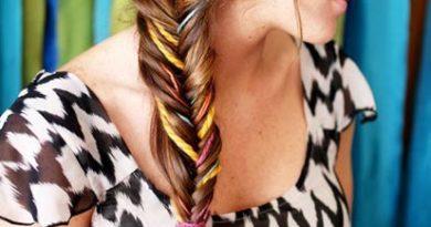 коса рыбий хвост