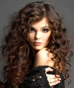 объемные волосы
