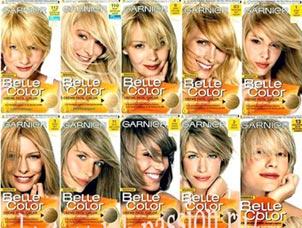 блонд краска