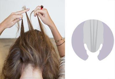 перевернутая французская коса