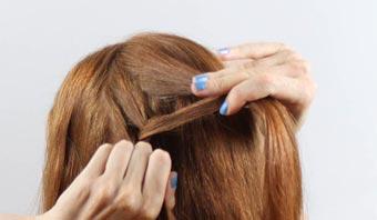 прическа на основе кос