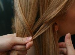коса колосок