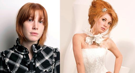длинные волосы на свадьбу