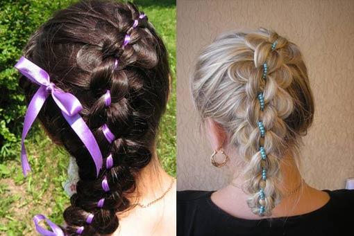оригииналная коса