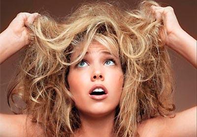 сухие волосы, что делать