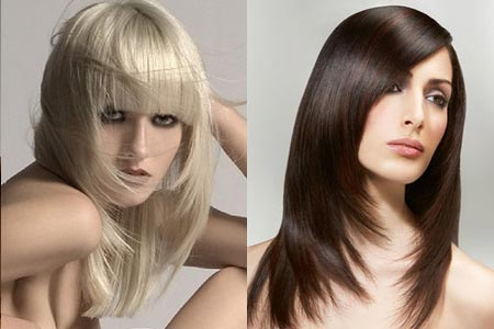 стрижка на тонкие волосы