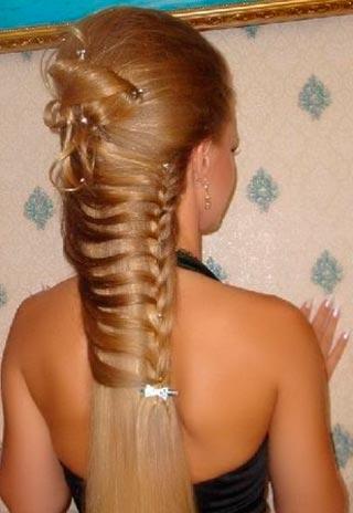 праздничная коса