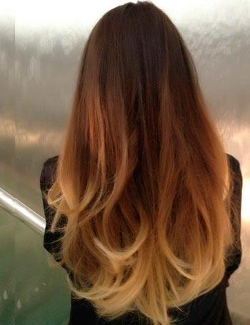 волосы ombre