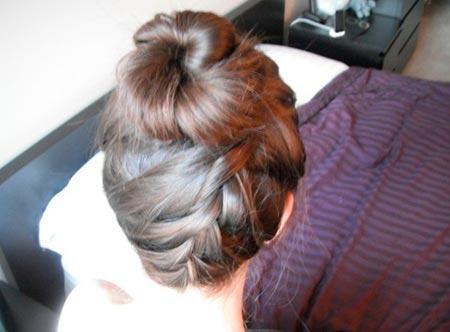 перевернутая коса