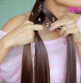 как сделать прическу с косой