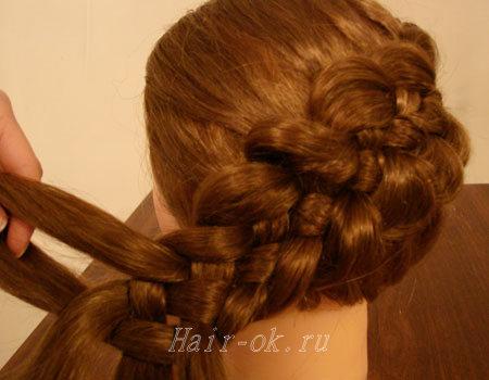 пятипрядная коса