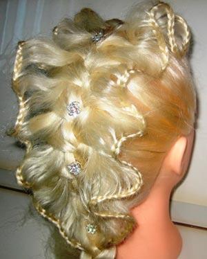 необычное плетение