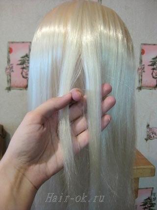мк коса колосок