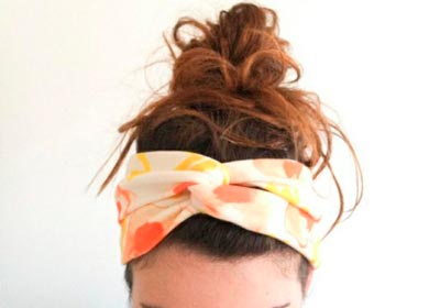 повязка для волос своими руками