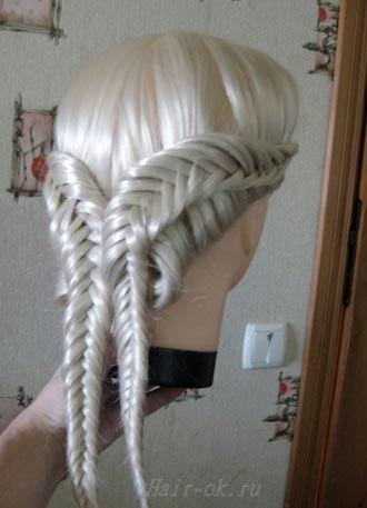 фото урок плетения косы