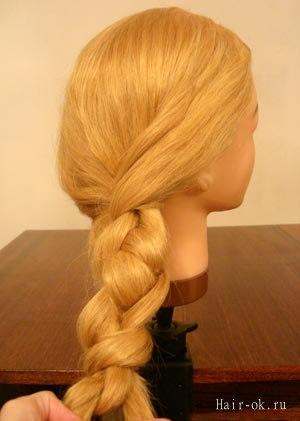 необычная коса