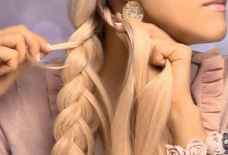 плетем косу сами