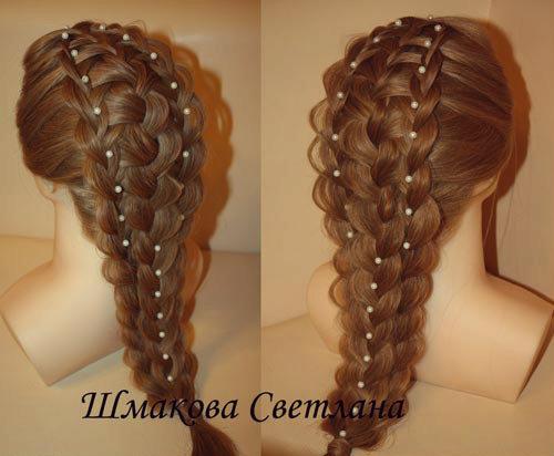 как заплести красивую косу