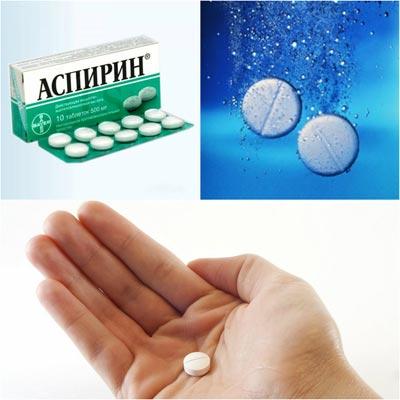 аспирин от перхоти