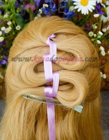 однопрядная коса
