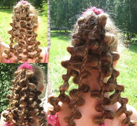 красивая коса