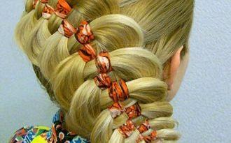 коса шахматка