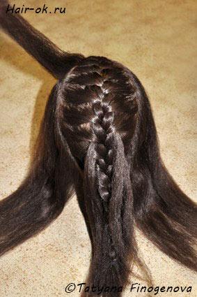 коса бабочка