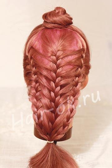 урок плетения косы