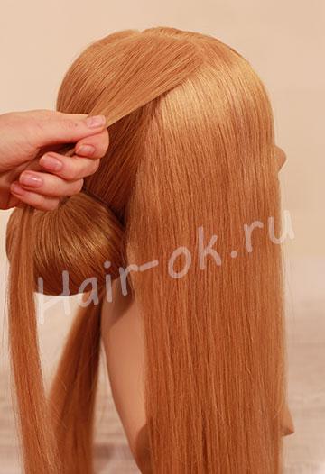 вечерняя прическа с косами