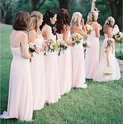 прическа подружки невесты
