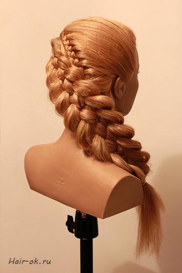 5 прядная коса