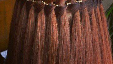 коса из 4 прядей
