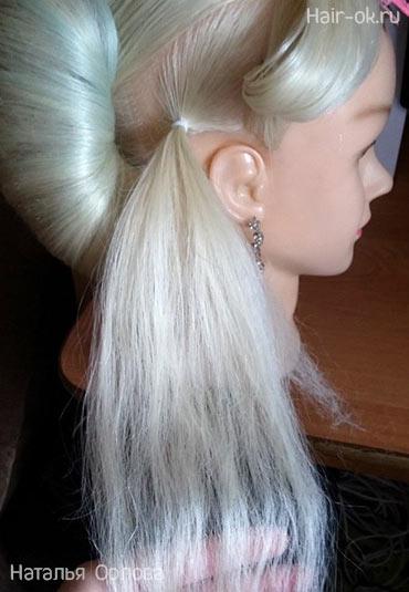 цветок из волос