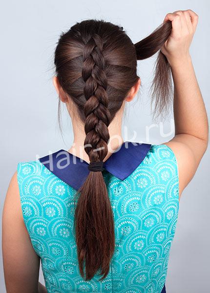 коса двойная