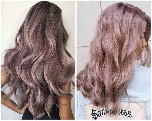 лиловый оттенок блонда