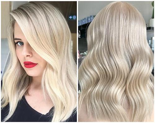 кукольный блонд